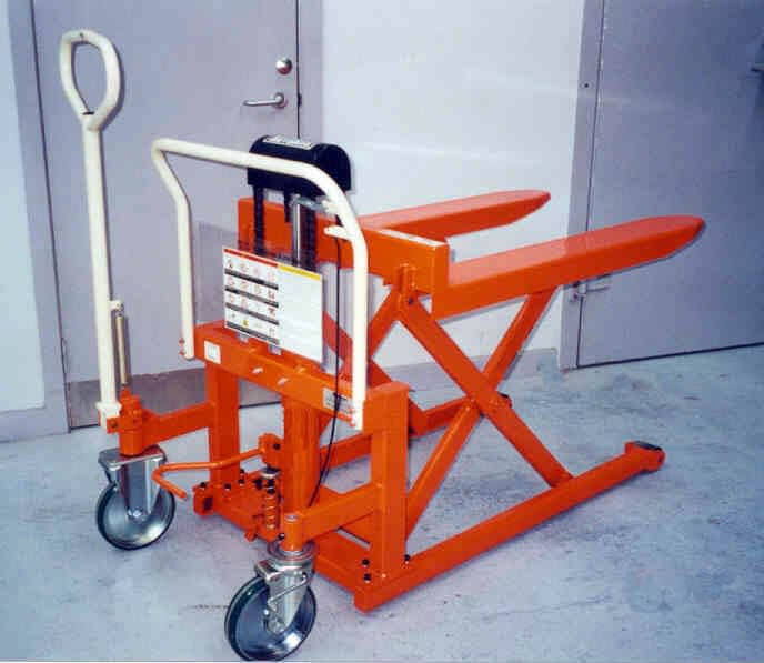 PALLET TRUCKS, LIFTERS AND STACKERS